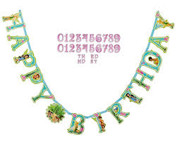 amazon disney tinkerbell customizable birthday party banner