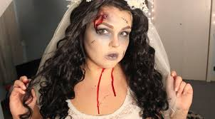 zombie bride makeup tutorial youtube