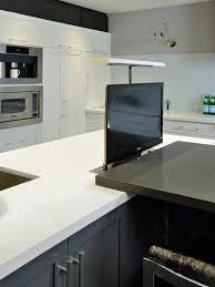 delightful contemporary kitchen design ideas with glossy white