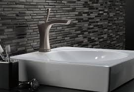 interesting delta brushed nickel bathroom faucets delta