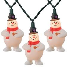 frosty the snowman novelty string lights