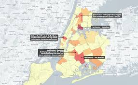 Crime Map New York by Interactive Map See Where The Nypd Arrests Women Who Are Black