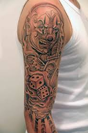 lifes a gamble joker dice tattoo design photo 2 photo