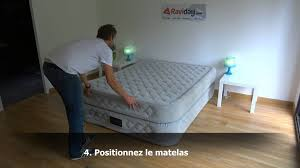 matelas gonflable intex suprême bed 2 personnes youtube