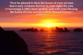 praise and thanksgiving verses 2 samuel 7 29 u2014 verse of the day for 07 29 2016