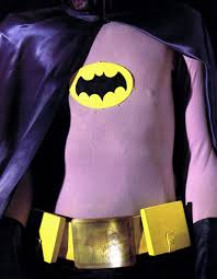 someone dressed as adam west u0027s batman complete with accurate love
