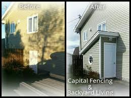renovations capital fencing and backyard living
