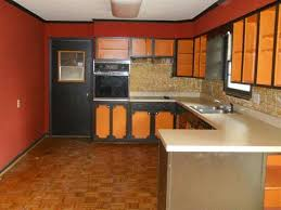 two tone painted kitchen cabinets rustic two tone painted