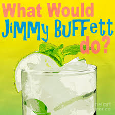 what would jimmy buffet do square photograph by edward fielding