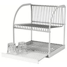 bestående dish drainer silver colour white 32x29x36 cm ikea