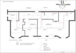 wiring diagram for house lighting circuit in how to control each