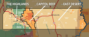 capitol reef national park map wayne county national park maps wayne county