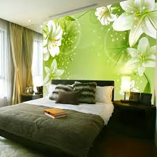 wandgestaltung in grün schlafzimmer ideen braun grün rheumri