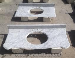 italy bianco carrara white marble bathroom vanity top bath top