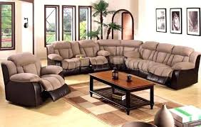 Sofas And Recliners Fantastic Leather Sectional With Recliners Leather Sectional Sofa