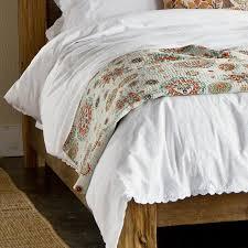 white cotton duvet cover robert redford u0027s sundance catalog
