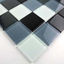 faience en verre pour cuisine carrelage de verre mural pour cuisine et salle de bain mv noi 48