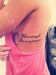 33 beautiful side rib quotes tattoos