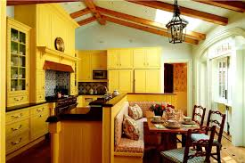 Classic Kitchen Colors Multicolored Traditional Kitchen Cabinetry With Color