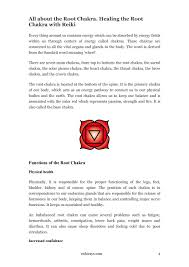 root chakra heal and balance your chakras with reiki by recovery rocks cafe