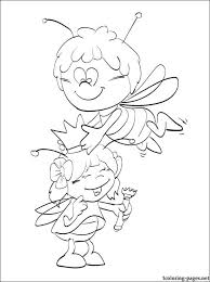 maya bee coloring drawings coloring pages