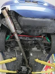 subaru dual exhaust 3 inch vs 3 5 inch exhaust test tech modified magazine