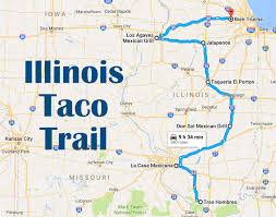 Moline Illinois Map by There U0027s Nothing Better Than This Mouthwatering Taco Trail In Illinois