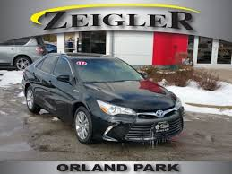 toyota orland used 2017 toyota camry hybrid for sale orland park il
