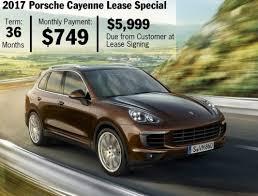 lease deals on porsche cayenne porsche of boise promotions specials
