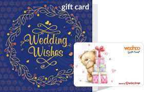 Gift Card Wedding Gift Woohoo Wedding Gift Card With A Blue Greeting Card Woohoo In