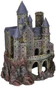 penn plax wizard s castle aquarium decoration