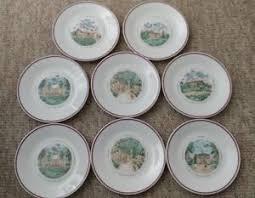 canape limoges set of 8 philippe deshoulieres limoges chateau porcelain