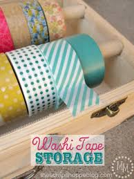 things to do with washi tape washi tape storage the scrap shoppe