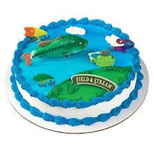 bass fish cake field bass fish cake topper grocery