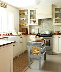Kitchen Islands For Small Spaces Small Kitchen Island Table How Much Walking Space Is Required