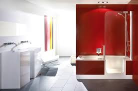 bathroom amusing red bathrooms cabinets and bathroom white