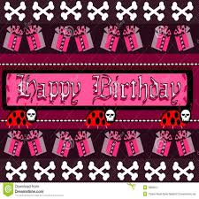 lovely gothic happy birthday images