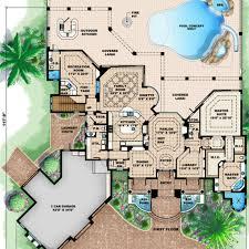 mediterranean style house plans mediterranean style house plan 4 beds 45 baths 5049 sq