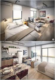 Ways To Divide A Room by Clever Ways To Design A Living Room And Bedroom Combo