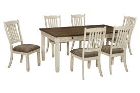 bolanburg dining table with 4 side chairs