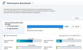 Hdd Bench Samsung 850 Evo Low Benchmark In Magician Storage