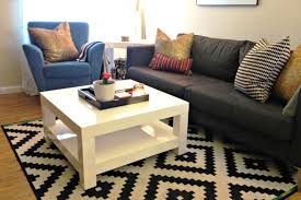 pier 1 coffee table white square small modern minimalist solid wood pier 1 coffee table