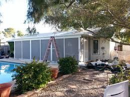 Backyard Screen House by Screen Rooms U0026 Screen Enclosures Arizona Enclosures And Sunrooms