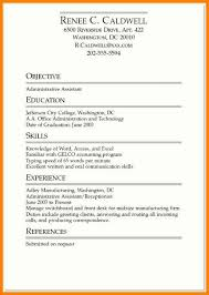 Example Resume For Cashier by Simple Resume Examples For College Students
