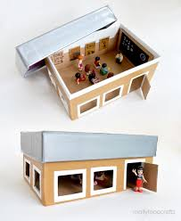 mollymoocrafts back to crafts shoebox for pretend play