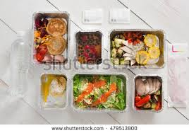 healthy food delivery take away natural stock photo 529411273