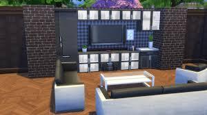 Wohnzimmerschrank Umbauen Wohnwand Gestalten Die Sims 4 Tutorial Deutsch German Youtube
