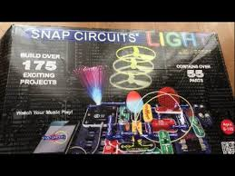 How To Use Snap Circuits Light Scl 175 By Elenco Review Tutorial