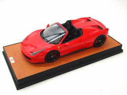 toy ferrari model cars ferrari 458 spider 1 18 mr collection models