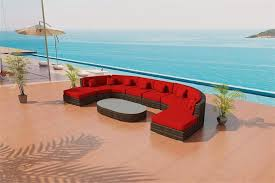 zanzibar outdoor wicker sectional sofa by las vegas patio furniture